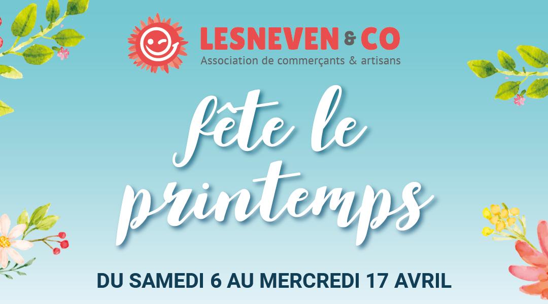 Lesneven & Co fête le printemps